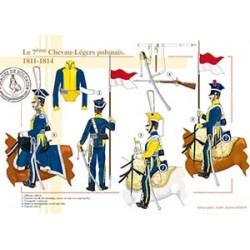 Le 7ème Chevau-Légers polonais, 1811-1814