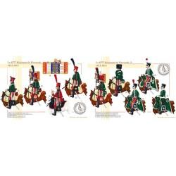 Le 8ème Régiment de Hussards, 1812-1815