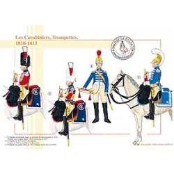 Les Carabiniers, Trompettes, 1810-1813