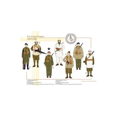 Les Corps Francs, 1939-1940