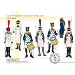 Le 4ème Régiment d'Infanterie de Ligne, 1806-1810