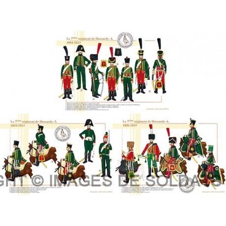 Le 7ème régiment de Hussards, 1804-1815 (2/2)