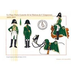 Le Page Porte-Lunette de la Maison de l'Empereur, 1810-1815