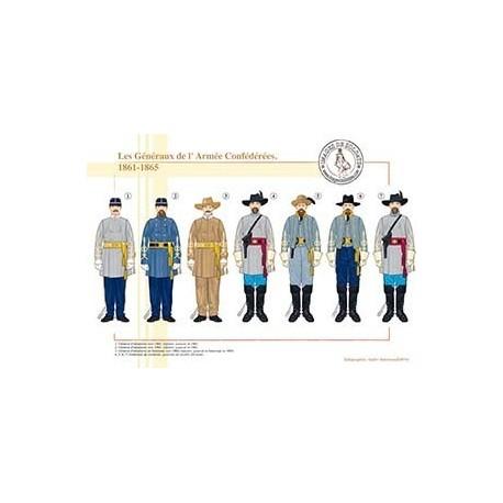 Les Généraux de l'Armée Confédérées, 1861-1865