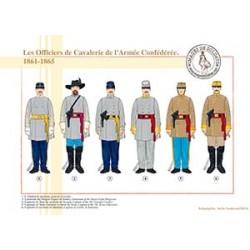 Les Officiers de Cavalerie de l'Armée Confédérée, 1861-1865