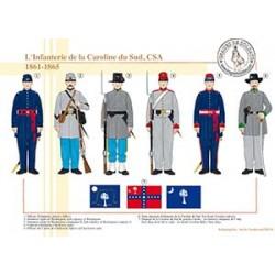 L'Infanterie de la Caroline du Sud, CSA, 1861-1865