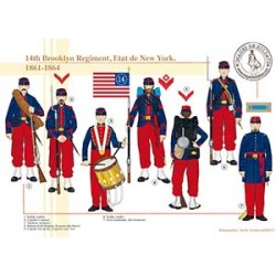 14th Brooklyn Regiment, Etat de New York, 1861-1864