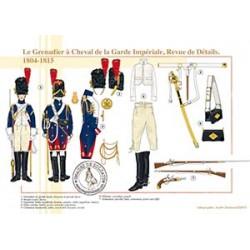 Le Grenadier à Cheval de la Garde Impériale, Revue de Détails, 1804-1815