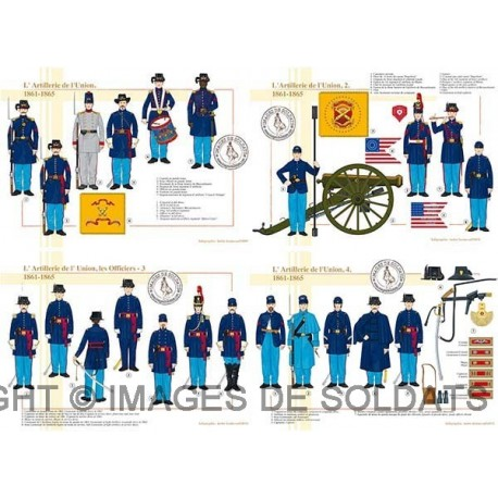 L'Artillerie de l'Union, 1861-1865