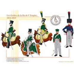 Les Guides de la fin de l'Empire, 1814-1815