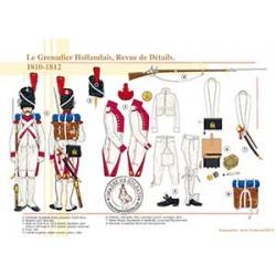 Le Grenadier Hollandais, Revue de Détails, 1810-1812