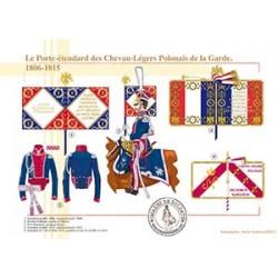 Le Porte-étendard des Chevau-Légers Polonais de la Garde, 1806-1815