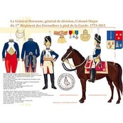 Le général de division Dorsenne, 1773-1812