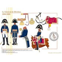Le général de Division, 1804-1808