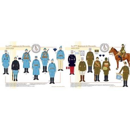 Le 3ème régiment de Hussards, 1919-1939