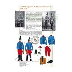 Le 20ème régiment de Chasseurs à Cheval, 1905-1910