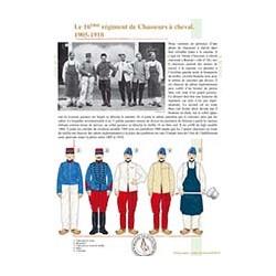 Le 16ème régiment de Chasseurs à Cheval, 1905-1910
