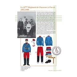 Le 12ème Régiment de Chasseurs à Cheval, 1890-1900