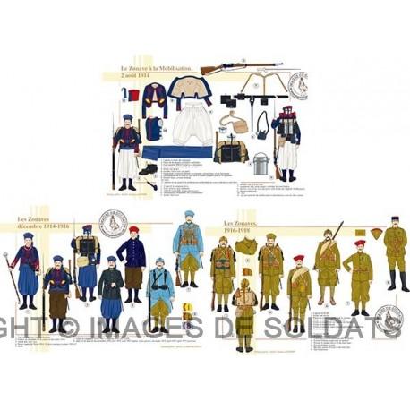Les Zouaves, 1914-1918