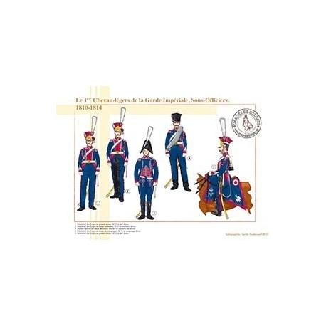 Le 1er Chevau-légers de la Garde Impériale, Sous-Officiers, 1810-1814