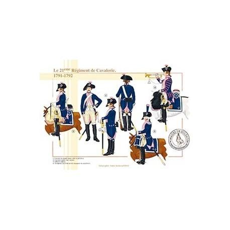Le 21ème de Cavalerie, 1791-1792