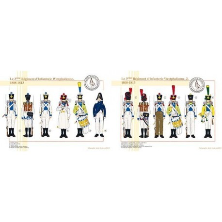 Le 3ème Régiment d'Infanterie Westphalienne, 1808-1813