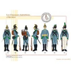 Les Chasseurs Autrichiens, 1798-1814