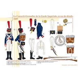 Le Conscrit-Grenadier de la Garde Impériale, revue de détails, 1809