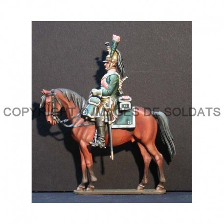 Cavalier du 15ème régiment de Dragons, 1807