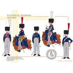 Les Guides de Strasbourg, 1814-1815
