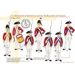 Les Régiments Irlandais au service du Royaume de France, 1786-1791