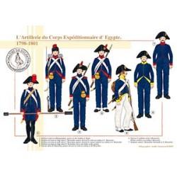 L'Artillerie du Corps Expéditionnaire d'Egypte, 1798-1801