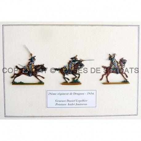 28ème régiment de Dragons (1) - 1814