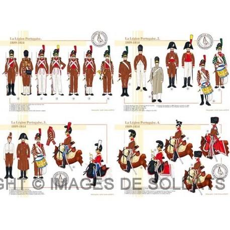 La Légion Portugaise, 1809-1814