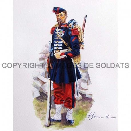 Grenadier à pied de la Garde Impériale de Napoléon III