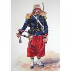 Clairon d'infanterie en 1860