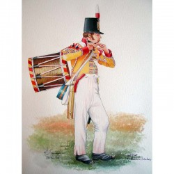Tambour des Staffordshire volunteers, 1815