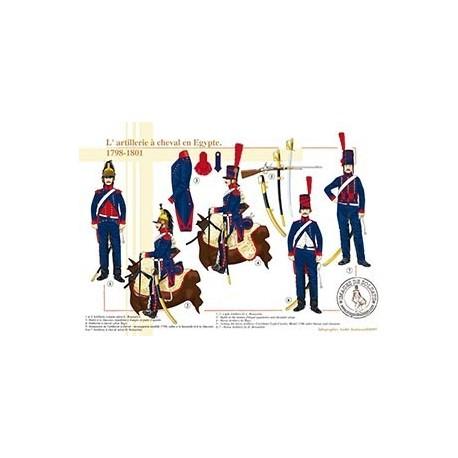 L'artillerie à cheval en Egypte, 1798-1801