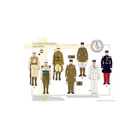 La Légion Etrangère, 1920-1935