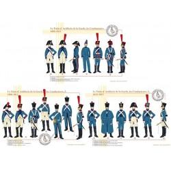 Le Train d'Artillerie de la Garde, les Conducteurs, 1806-1812