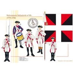 Soissonnais Infanterie n°41, 1779-1786