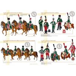 Le 8ème régiment de Hussards, 1808-1812