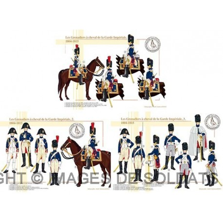 Les Grenadiers à cheval de la Garde Impériale, 1804-1815
