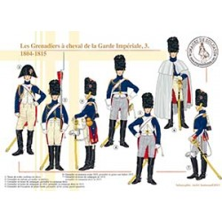 Les Grenadiers à cheval de la Garde Impériale (3), 1804-1815