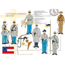 La Cavalerie Confédérée (1), 1861-1865