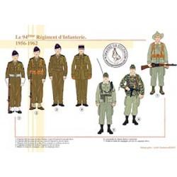 Le 94ème Régiment d'Infanterie, 1956-1962