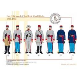 Les Officiers de l'Artillerie Confédérée, 1861-1865