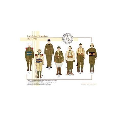 La Légion Etrangère, 1935-1940