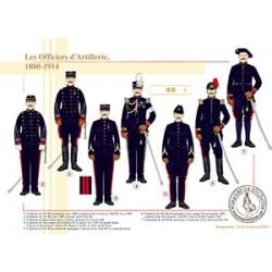 Les Officiers d'Artillerie, 1880-1914