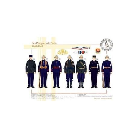 Les Pompiers de Paris, 1940-1945